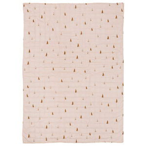 Cone Quilted Blanket Rose (30% sale)