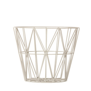 Wire Basket Grey Small