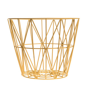 Wire Basket Yellows Medium