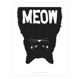 Meow Poster