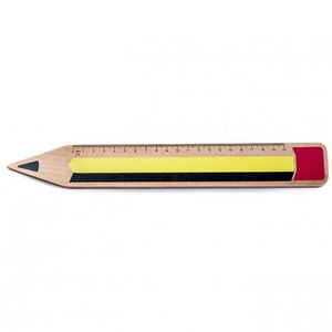 Wooden Rulers - Pencilmania