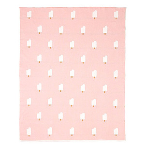 Pink Ice Cream Blanket