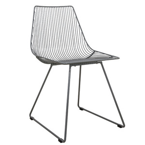I-Sit Metal Chair L Dark Grey (20% sale)