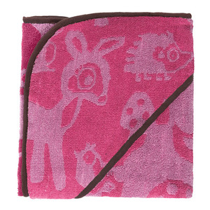 Hooded Towel Forest Girl (30% sale)