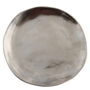 Plates Imperfect Silver Large