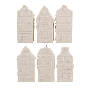 Canal Ornaments set of 6 (50% sale)