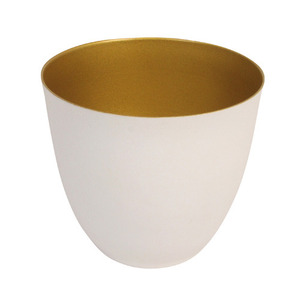 Tealight Holder Winter Large Gold