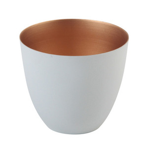 Tealight Holder Winter Large Copper