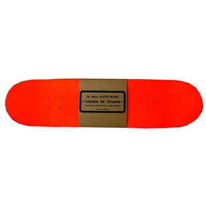 Skateboard Rack Orange Fluo
