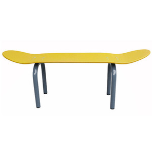 Skateboard Bench Yellow