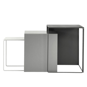 Cluster Tables Grey (set of 3)