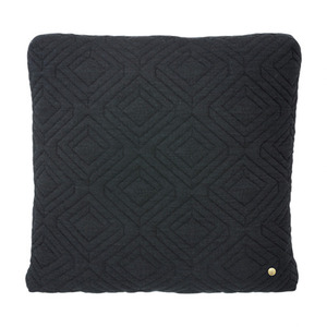 Quilt Cushion Dark Grey 45x45 (30% sale)