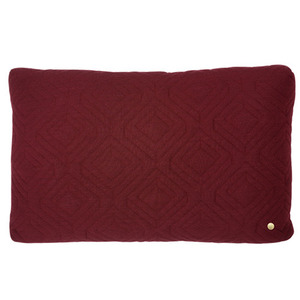 Quilt Cushion Bordeaux 60x40 (sale)