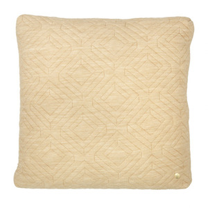 Quilt Cushion Camel 45x45  (30% sale)