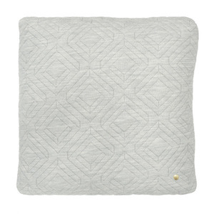 Quilt Cushion Light Grey 45x45 (30% sale)