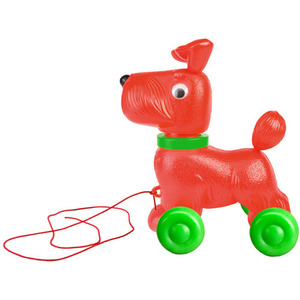 Dog on Wheels Red