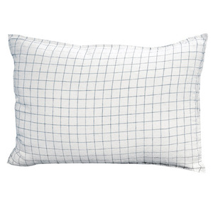 Pillowcase 50x70 Navy/White Checks