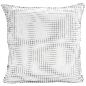 Pillowcase 65x65 White/Black Checks