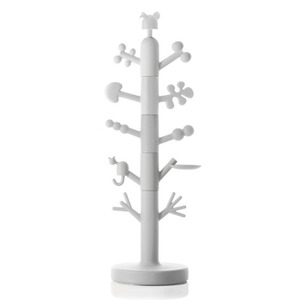 Paradise Tree Coat Stand White