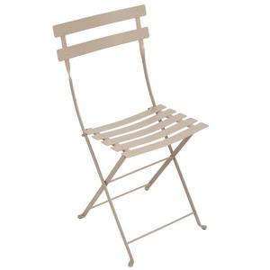 Bistro Metal Chair Nutmeg
