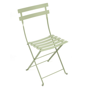 Bistro Metal Chair Willow Green
