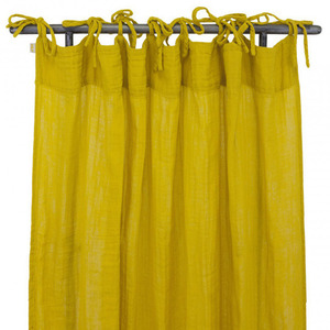 Flat Curtain Sunflower Yellow