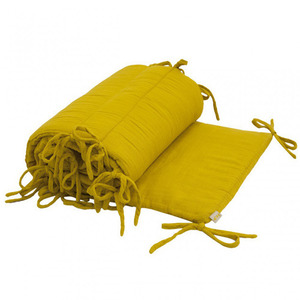 Cot Bumper Sunflower Yellow