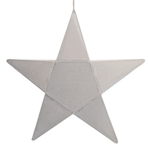 Star Lantern Silver Grey Medium (50% sale)