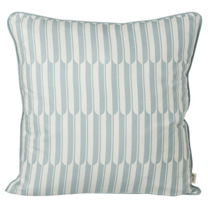 Arch Cushion Blue/Off-white
