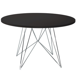 XZ3 Round Table Black