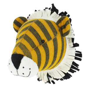 Stripe Tiger Head