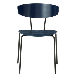 Herman Chair Dark Blue