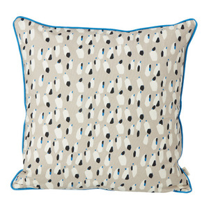 Spotted Cushion Grey
