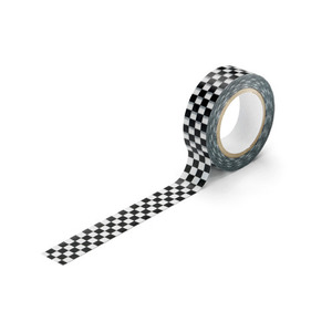 Masking Tape Checker Black/White
