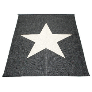 VIGGO STAR Wide Black Metallic