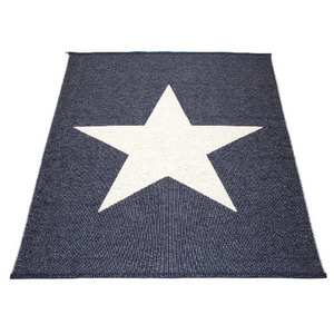 VIGGO STAR Wide Blue Metallic