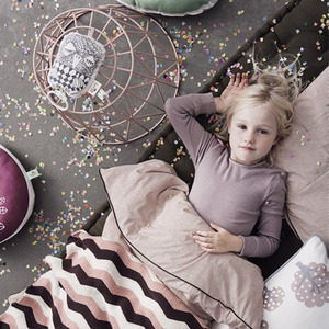 Little Dot Bedding Rose Single