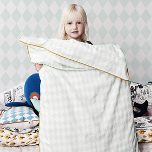 Harlequin Bedding Mint Single
