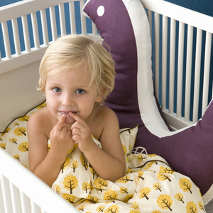 Dotty Bedding Yellow Single