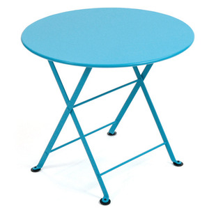 Tom Pouce Low table Ø 55cm Turquoise