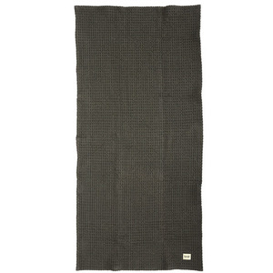 Organic Bath Towel Dark Grey  (30% sale)