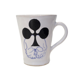 Unique Souvenir Small Cup Skull & Clover [30% sale]