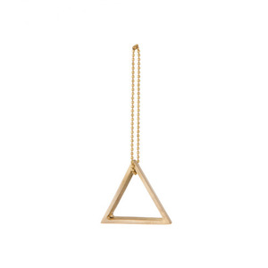 Brass Ornament Triangle