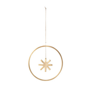 Winterland Brass Star Small