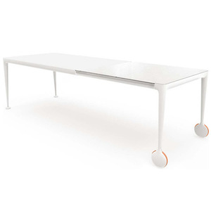 Big Will Extending Table White