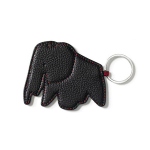 Key Ring Elephant Black