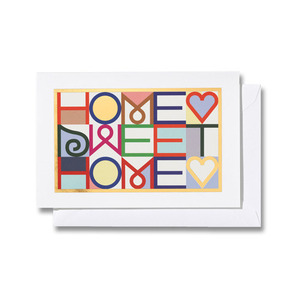 Greeting Card Medium Home Sweet Home