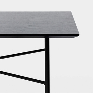 Mingle Table 210cm Black Veneer