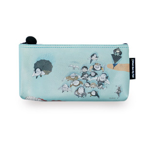 Talkative Moon Pencil Case