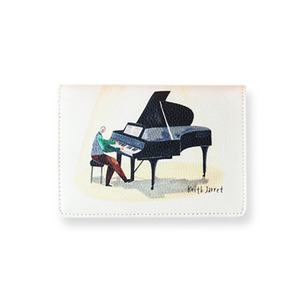 Pianist Passport Wallet